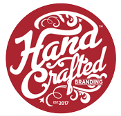 handcrafted branding logo